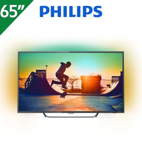 "TV LED PHILIPS 65"" ULTRA HD 4K"