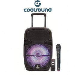 "ALTAVOZ COOLSOUND AMPLIFICADO 8"" 250W"