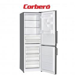 FRIGORIFICO CORBERO COMBI, INOX, INVERTER, A+++