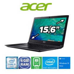 PORTÁTIL ACER I3, 4 GB RAM, 128 SSD WINDOWS 10 HOME