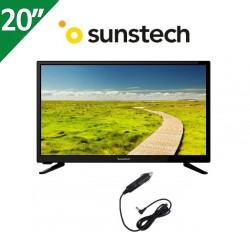 """TV SUNSTECH 20"""", USB GRABADOR, COMPATIBLE 12V"""