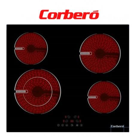 VITROCERÁMICA CORBERÓ 4 ZONAS, 1 DOBLE