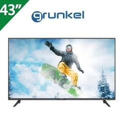 "TELEVISOR GRUNKEL 43"", 4K,  SMART TV  ANDROID 9.0"