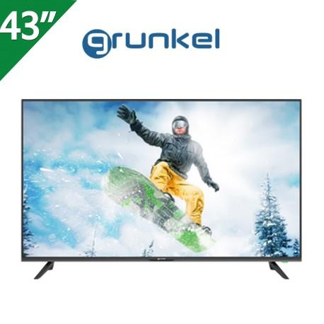 "TELEVISOR GRUNKEL 43"", 4K,  SMART TV  ANDROID 9.0"