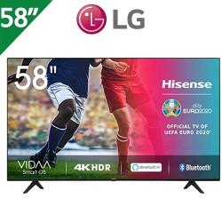 "TELEVISOR HISENSE 50"" 4K UHD, SMART TV, BLUETOOTH, ALEXA"