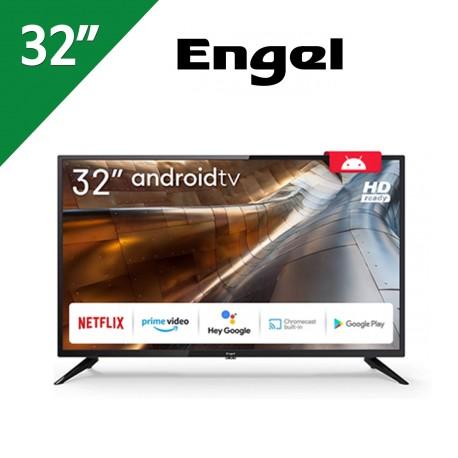 TELEVISOR ENGEL 32 PULGADAS SMART TV ANDROID
